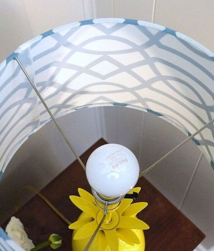 horchow inspired lamp makeover, home decor, painting