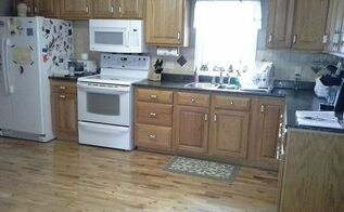 q kitchen cabinets white, diy, kitchen cabinets, kitchen design, painting, dark little kitchen