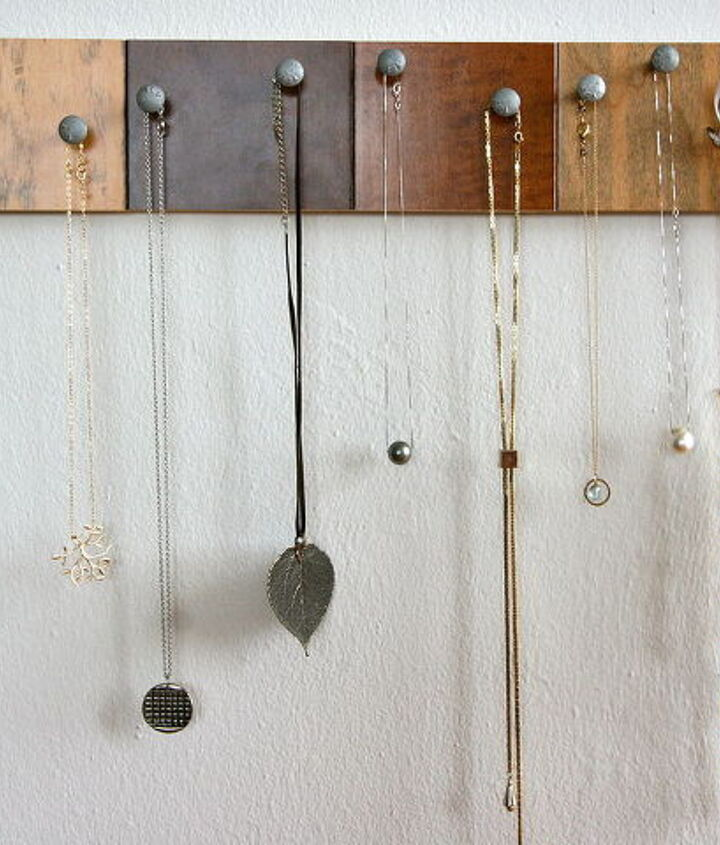 diy necklace holder, crafts