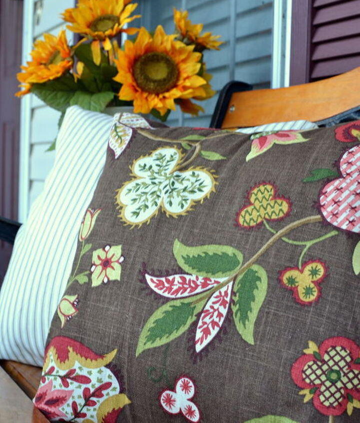 New DIY envelope pillow covers for fall