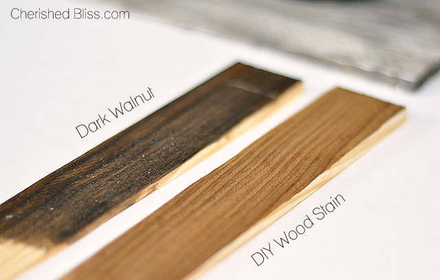How To Make Your Very Own Wood Stain W Household Products Hometalk