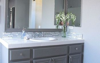 Update Your Bathroom Cabinets With Paint