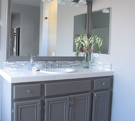 Update Your Bathroom Cabinets With Paint, Bathroom Ideas, Kitchen Cabinets,  Painting, We