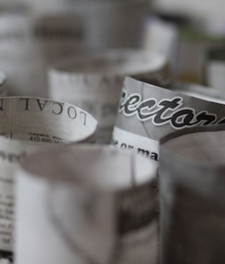 newspaper pots for seedlings, gardening