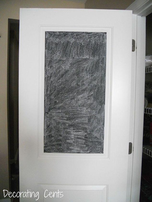 Chalkboard Pantry Door Hometalk