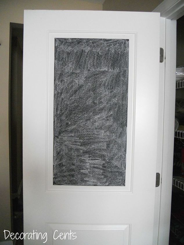 Chalkboard Pantry Door Hometalk