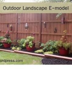 outdoor landscape, fences, gardening, landscape, outdoor living