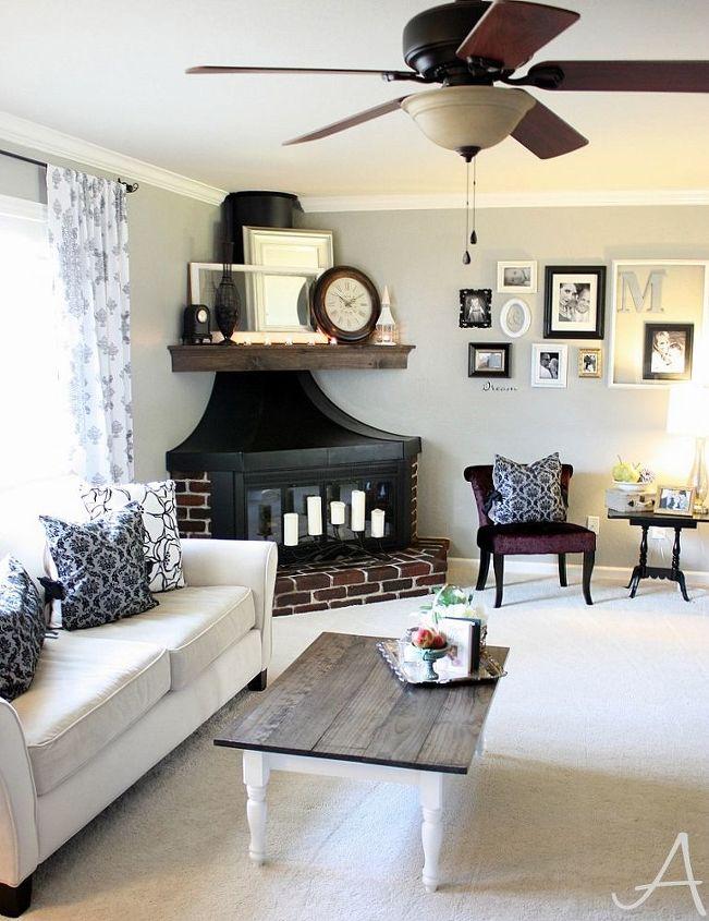 living room updates, diy, living room ideas, painted furniture