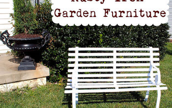 How to Paint - Rusty Iron Garden Furniture