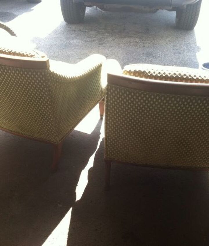 i want to know more about these chairs, painted furniture