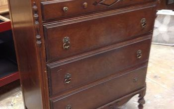 An Old Dresser Gets a New Look