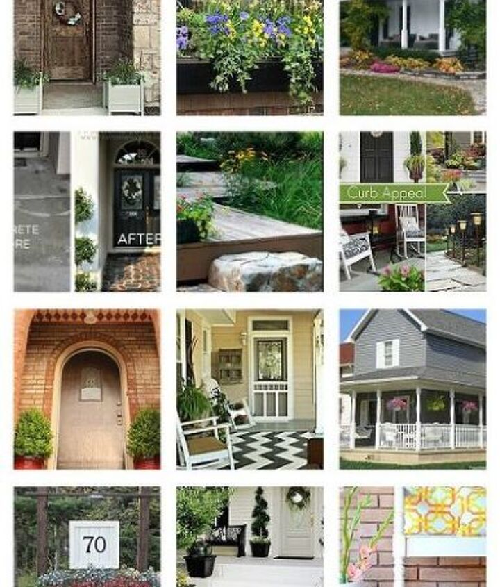 My clipboard for Hometalk with so many great ideas for curb appeal gathered up from Hometalk bloggers!!! Follow along and get inspired!! http://www.hometalk.com/b/776487/diy-adding-curb-appeal