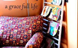 baby crib magazine holder, home decor, painted furniture, repurposing upcycling