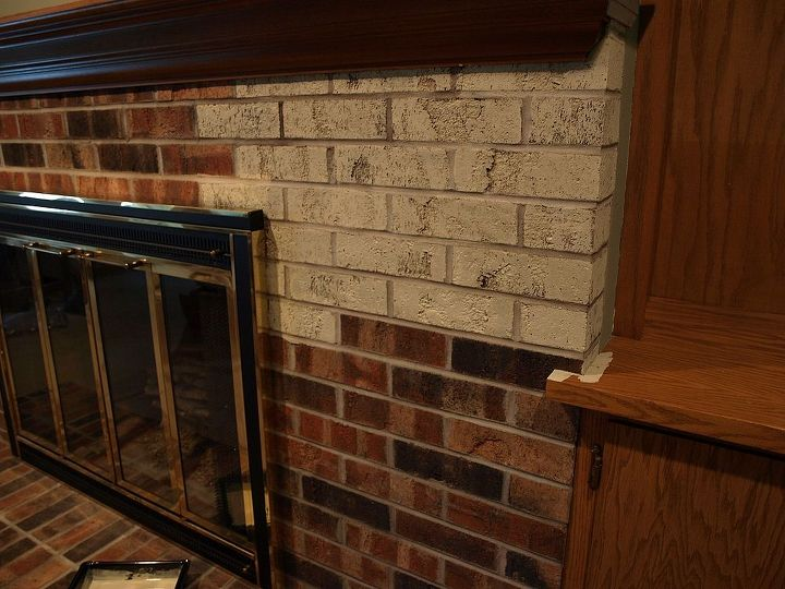 Painting A Brick Fireplace With Chalk Paint 174 Hometalk