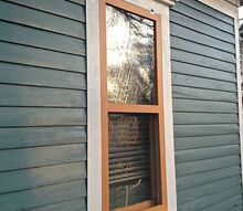 diy storm windows, diy, how to, windows, woodworking projects, The finished product