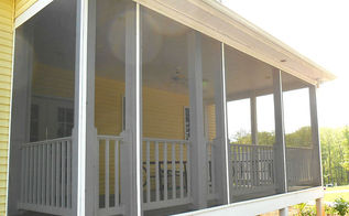 screen your porch in 3 easy steps, curb appeal, diy, how to, porches
