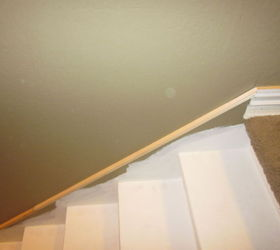 Removing Carpet From Stairs And Painting Them, Painting, Stairs, Add  Decorative Moulding To