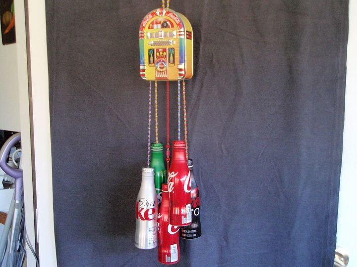 I love coca colas.  Now I am recycling coke tins, both bottles and containers.