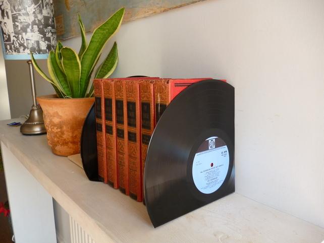 Vinyl Bookends