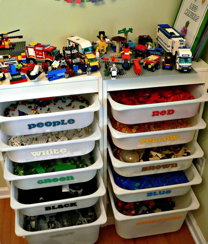 the ultimate lego storage, cleaning tips, organizing, storage ideas