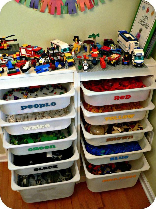 the ultimate lego storage, cleaning tips, organizing, storage ideas