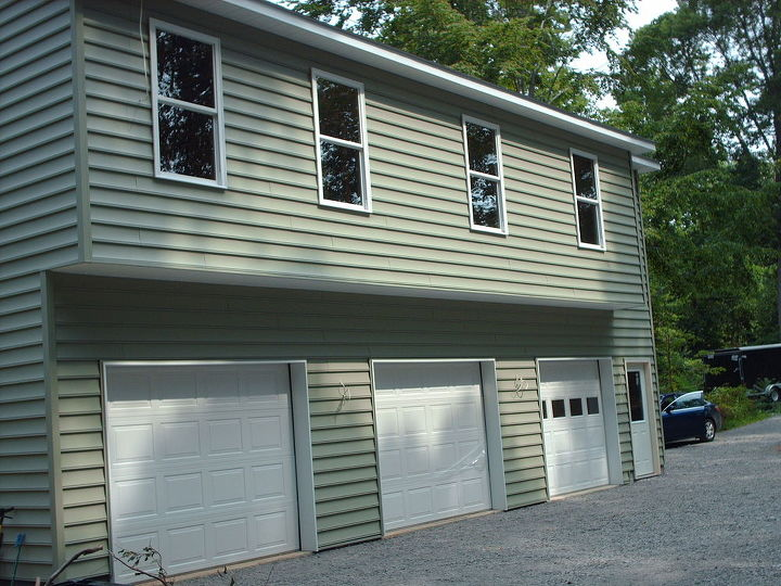 Now if we could just get to a point where we could get one of our cars in the garage. Going into our sixth year with the 1st floor and basement to complete