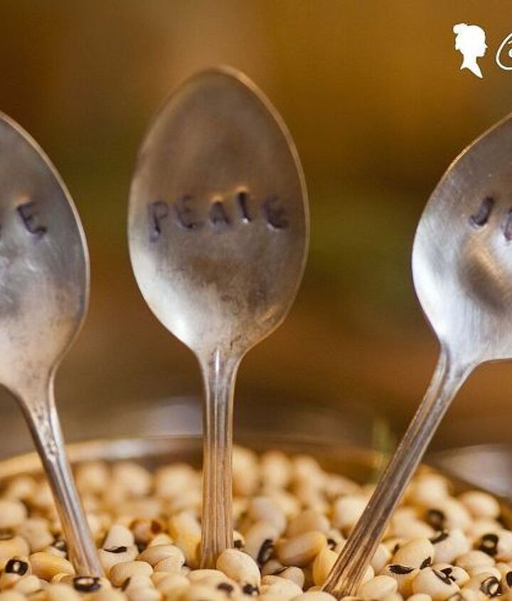spoons in a silver trophy