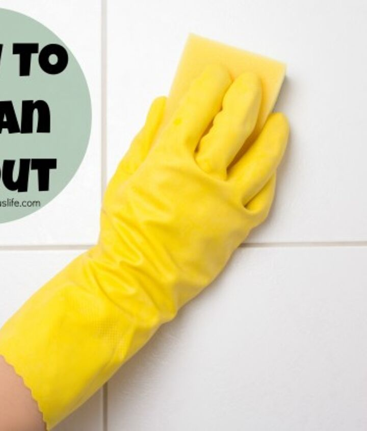 cleaning tip how to clean grout, cleaning tips, tiling