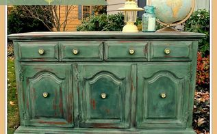 my super shabby buffet makeover and my 15 minutes of fame upcycling, crafts, home decor, painted furniture, repurposing upcycling, The finished buffet