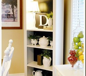 Lovely A Simple White Bookshelf Dramatically Changes With Some Black Paint