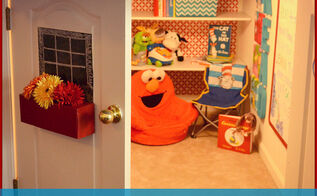 closet under the stairs turned kids reading nook, entertainment rec rooms, home decor