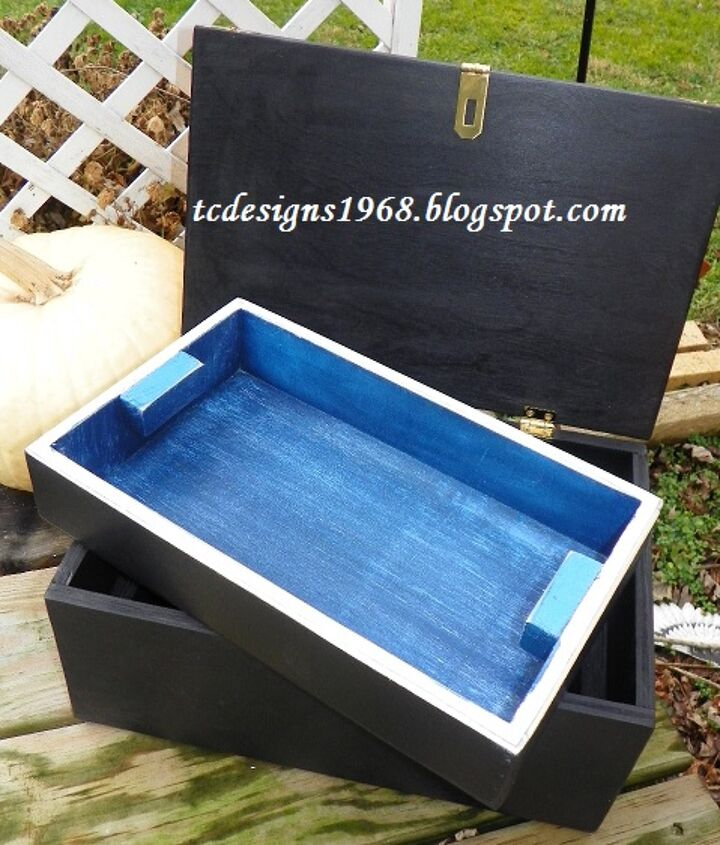 a treasure box to treasure forever, crafts, diy, how to, woodworking projects