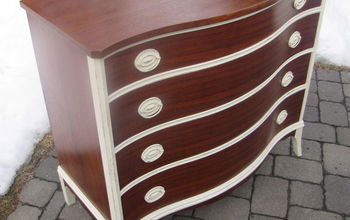 a little paint can really bring out those wood highlights, painted furniture, shabby chic
