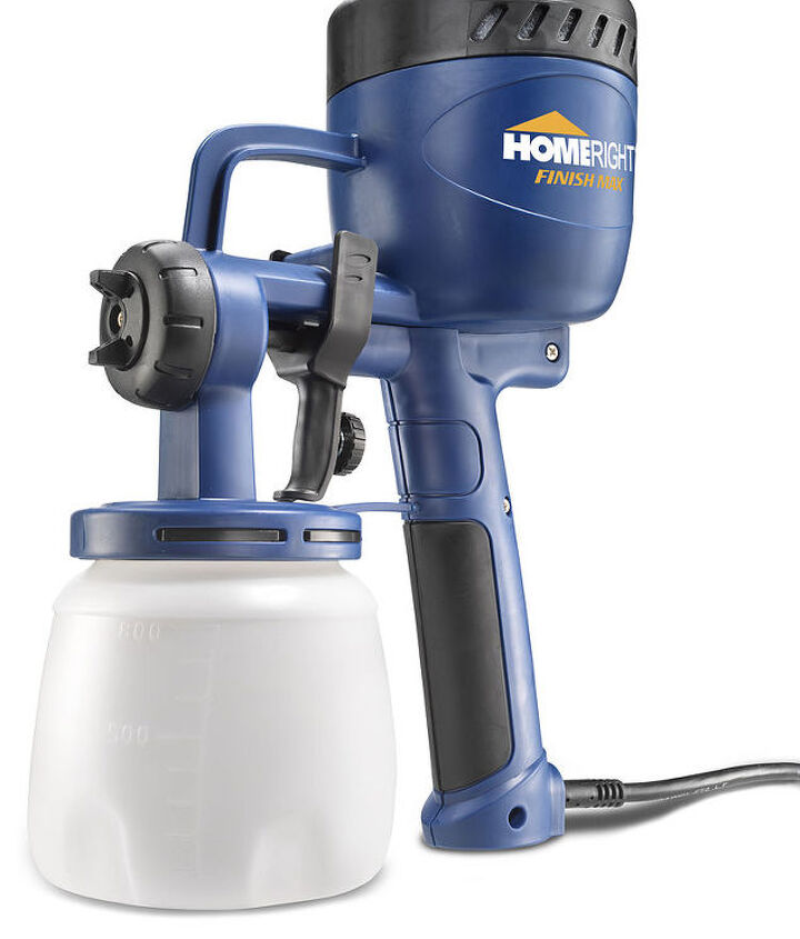 Door prizes!  HomeRight is giving one lucky attendee a new Finish Max Sprayer!