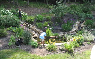 beautiful backyard installed by tjb inc, gardening, outdoor living, ponds water features