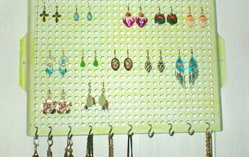 vintage cooking grill jewelry organizers, organizing, repurposing upcycling, After photo