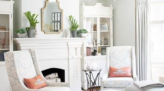 q pulling together a living room in color and pattern help, home decor, living room ideas, soft blues mostly neutral colors with touch of coral