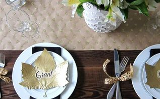easy inexpensive diys for your thanksgiving table, seasonal holiday d cor, thanksgiving decorations