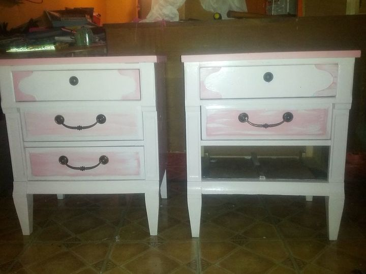 my newest project, painted furniture