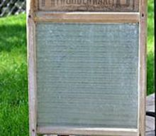 q how to restore this antique washboard, woodworking projects, The glass has some white build up on it Vinegar and water