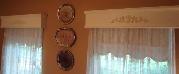 cornice boards, home decor, window treatments