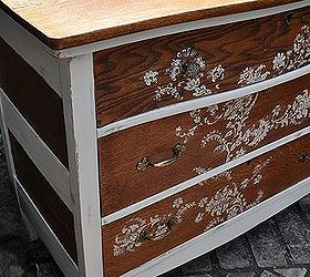 Rustic Dresser Redo, Chalk Paint, Painted Furniture, Rustic Furniture, I  Used A