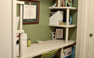 craft closet makeover, closet, craft rooms, Finished closet