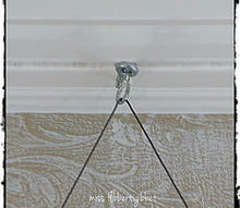 how to hang a heavy mirror, wall decor