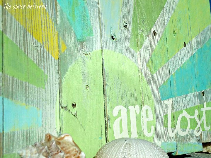 using pallet slats screws and some paint i made decorative word art, crafts, pallet