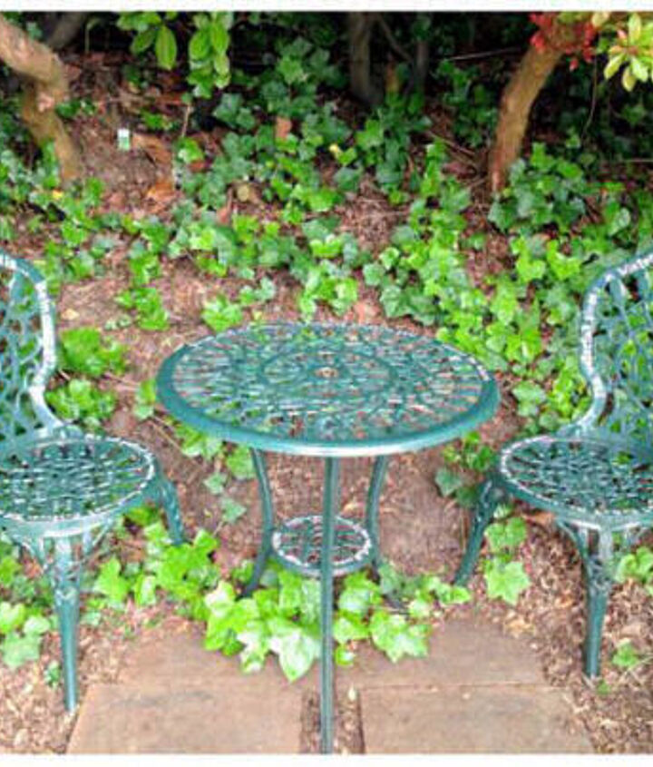 Poetic Seating area - http://gardentherapy.ca/spotted-poetic-patio-set/