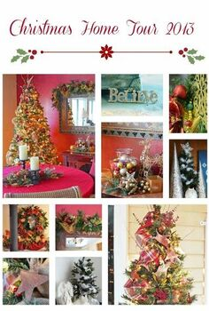 christmas home tour 2013 christmastree, christmas decorations, seasonal holiday decor