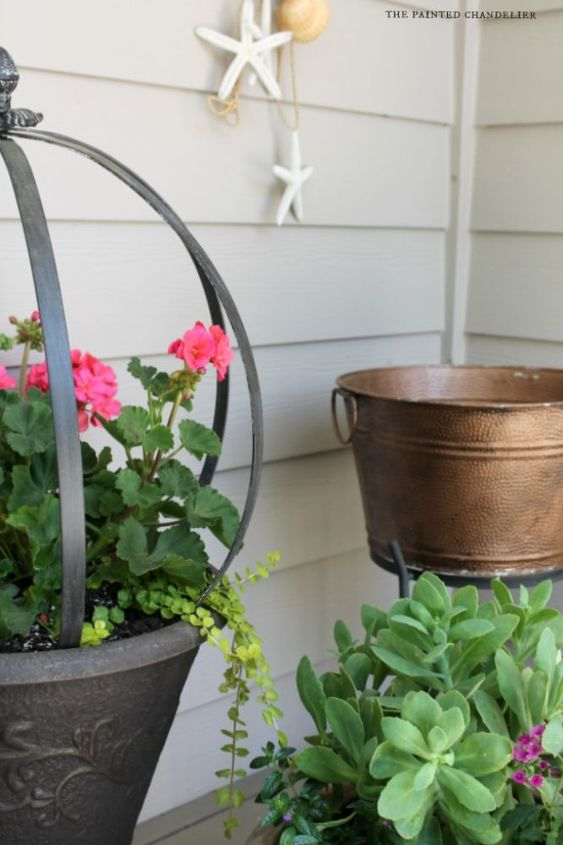 summer porch makeover, outdoor living, porches