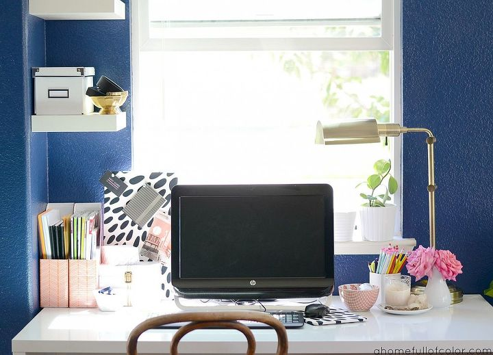 new office space, craft rooms, home decor, home office