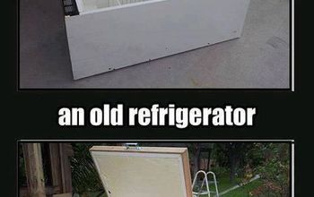 repurposed refrigerator, appliances, repurposing upcycling